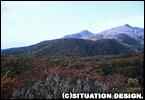那須岳上方は紅葉しておりません