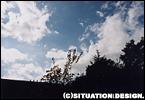 空と雲のコントラストがいい!